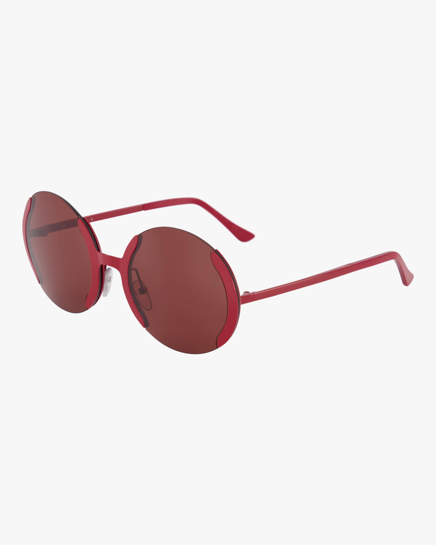 Marni ME110S Semi-Rimless Round Sunglasses 2