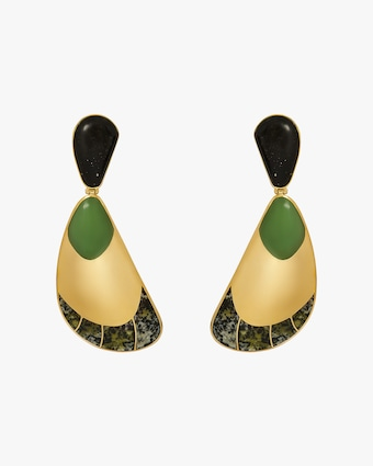 Monica Sordo Garzon Drop Earrings 1