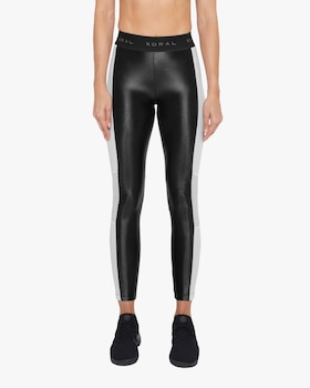 Emblem High-Rise Cropped Leggings