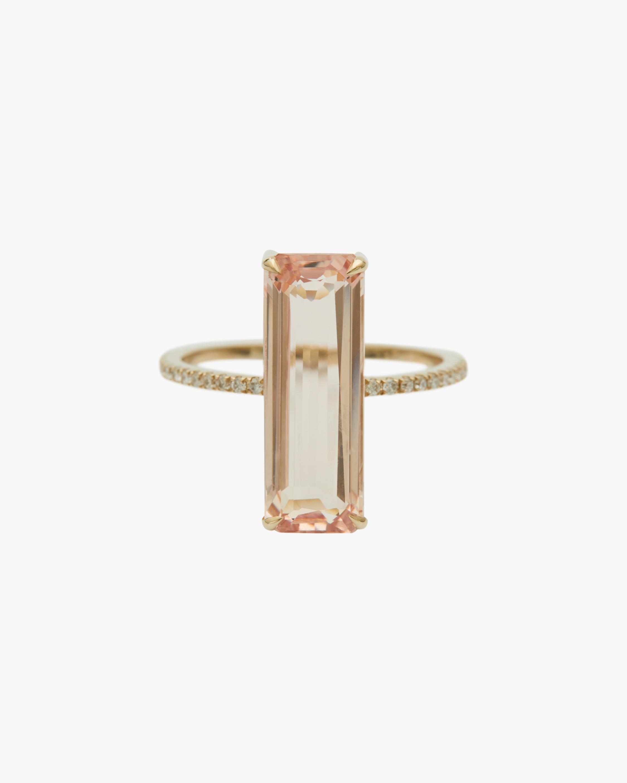 Yi Collection Morganite & White Diamond Ring 0
