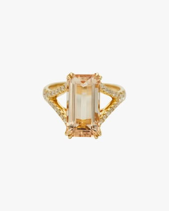 Yi Collection Morganite & Diamond Crown Ring 1