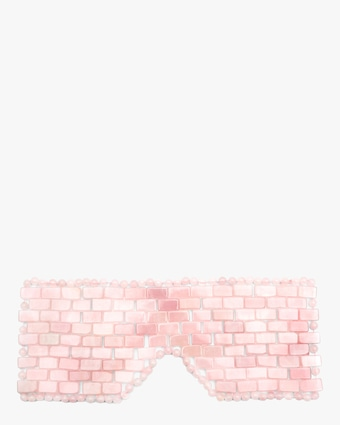 Angela Caglia Skincare Self-Love Rose Quartz Eye Mask 1