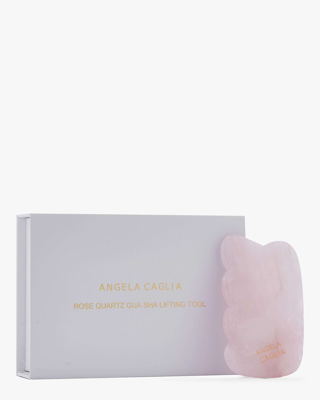 Angela Caglia Skincare Rose Quartz Gua Sha Lifting Tool 1
