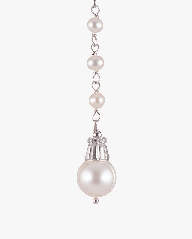Carolee Freshwater Pearl Linear Drop Earrings 1