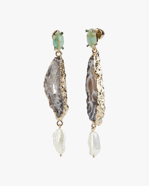 Eden Mixed Stone Drop Earrings