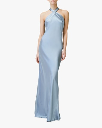 Galvan Eve Silk Dress 1