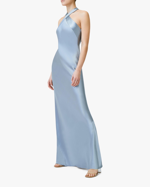 Galvan Eve Silk Dress 1