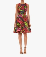 Carolina Herrera Sleeveless A Line Dress 0