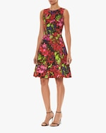 Carolina Herrera Sleeveless A Line Dress 1
