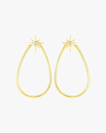 Cinderella Star Teardrop Earrings