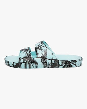 Cruz Palm Print Slide