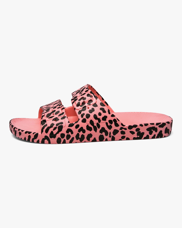 Freedom Moses Leo Pink Leopard Slide 1