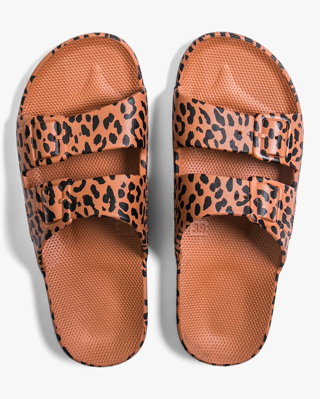 Leo Leopard Print Slide