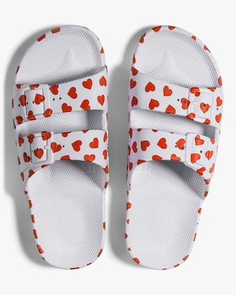 Love Heart Print Slide