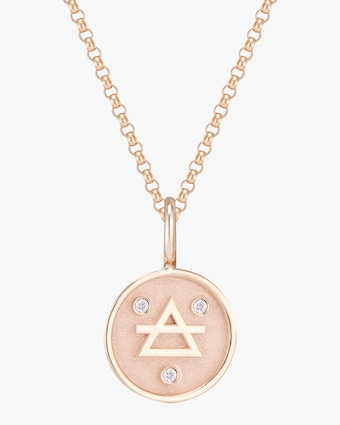 Marlo Laz Mini Elements Air Pendant Necklace 1