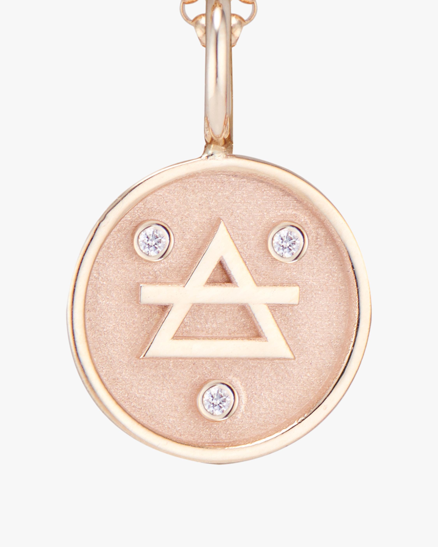 Marlo Laz Mini Elements Air Pendant Necklace 2