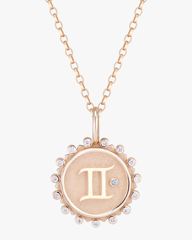 Marlo Laz Zodiac Gemini Pendant Necklace 1