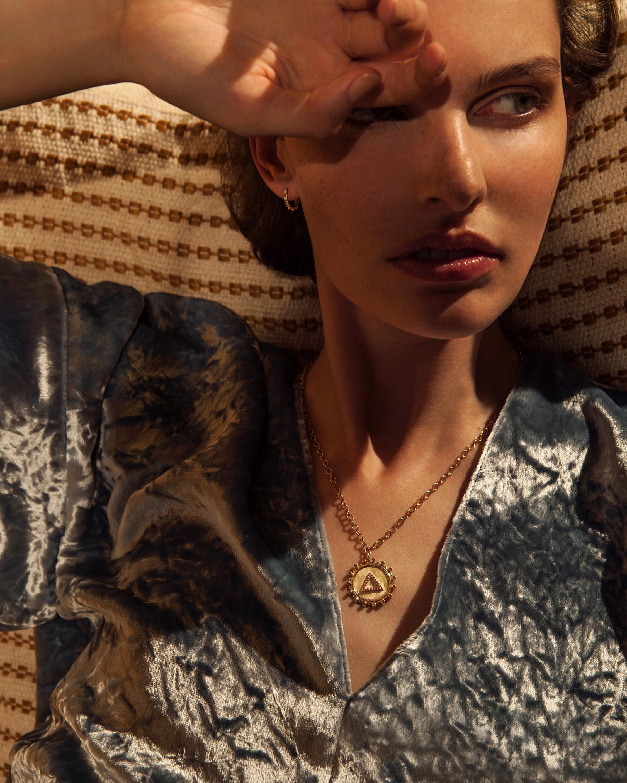 Marlo Laz Zodiac Gemini Pendant Necklace 2