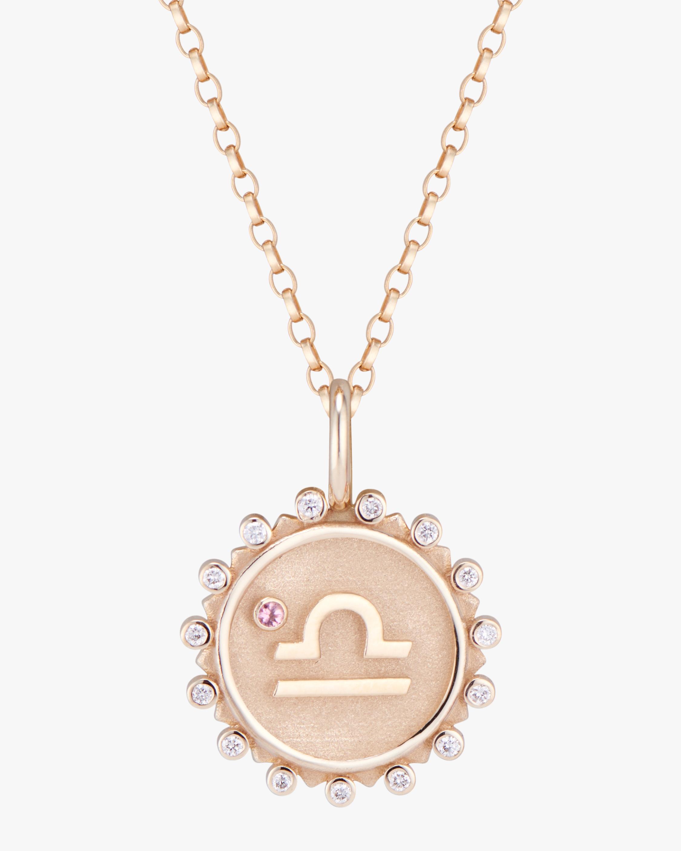 Marlo Laz Zodiac Libra Pendant Necklace 1