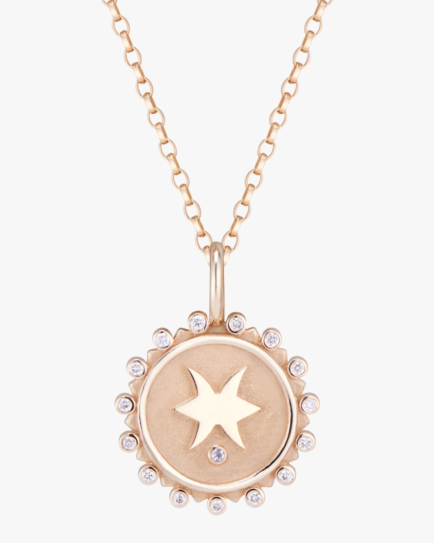 Marlo Laz Zodiac Pisces Pendant Necklace 0