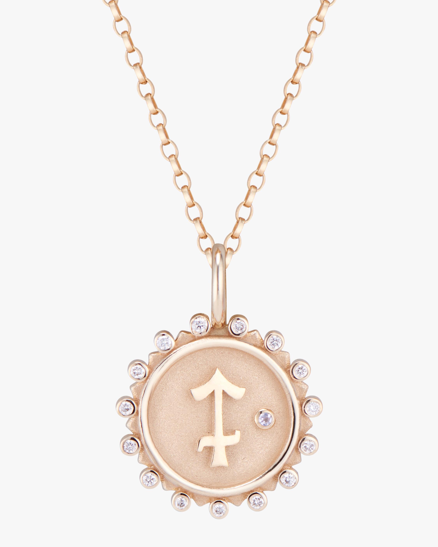 Marlo Laz Zodiac Saggitarius Pendant Necklace 1