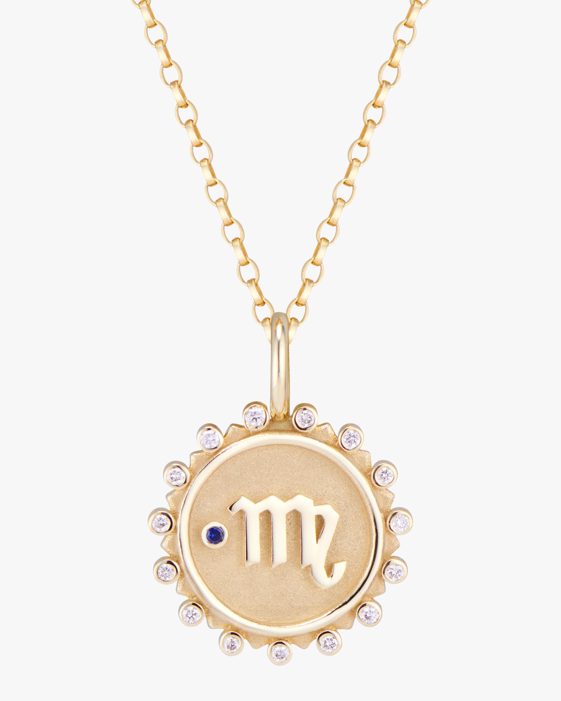 Marlo Laz Zodiac Virgo Pendant Necklace 0