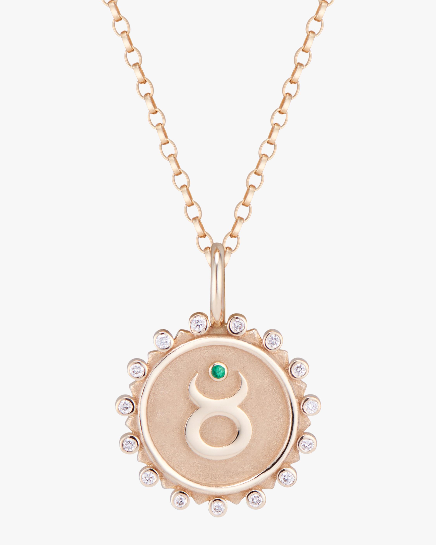 Marlo Laz Zodiac Taurus Pendant Necklace 0