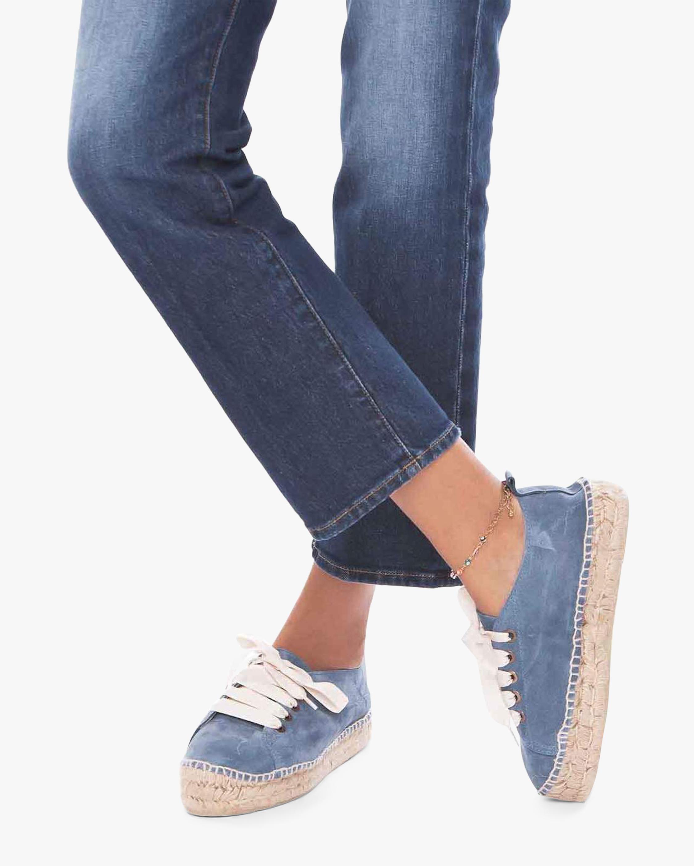 Manebi Blue Jeans Sneaker Espadrille 1
