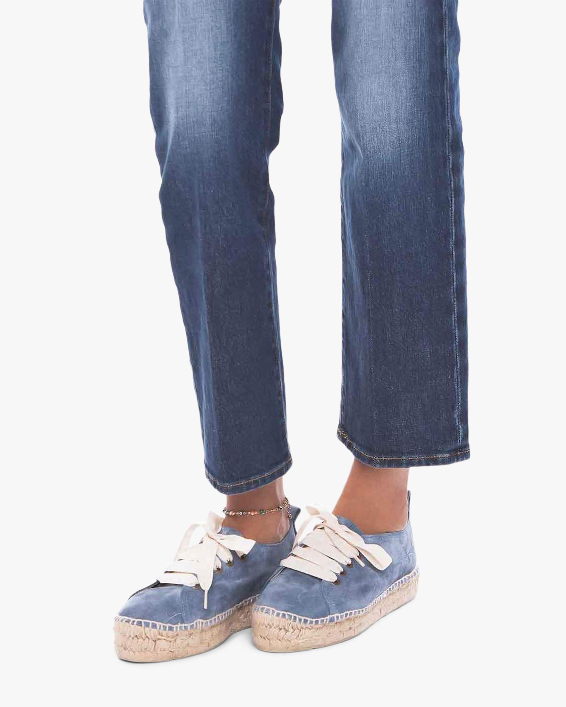 Manebi Blue Jeans Sneaker Espadrille 3