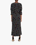 Christopher Kane Polka Dot Gathered Bell Dress 2