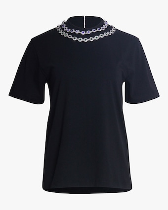 Christopher Kane Flower Crystal T-Shirt 1