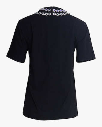 Christopher Kane Flower Crystal T-Shirt 2