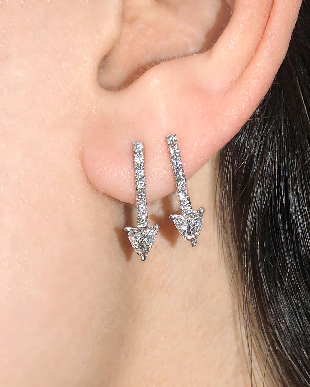 Chérut Thelma & Lousie Arrow Diamond Earrings 2