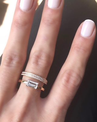 Chérut Victory Over the Sun XL Baguette Stacked Ring 2