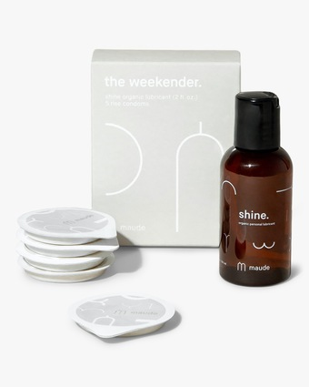 maude Weekender Kit: Rise and ShineTravel Pack- Organic 1
