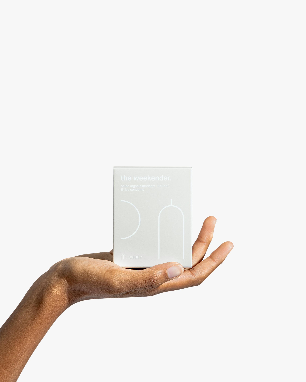 maude Weekender Kit: Rise and ShineTravel Pack- Organic 1