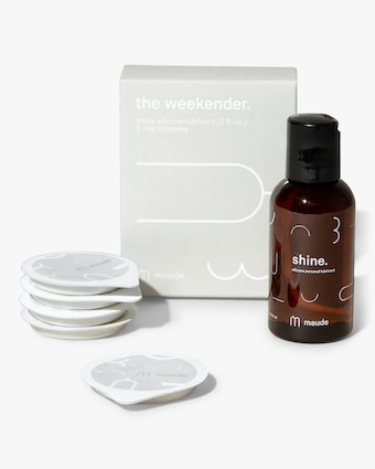 maude Weekender Kit, Rise and Shine Travel Pack- Silicone 1