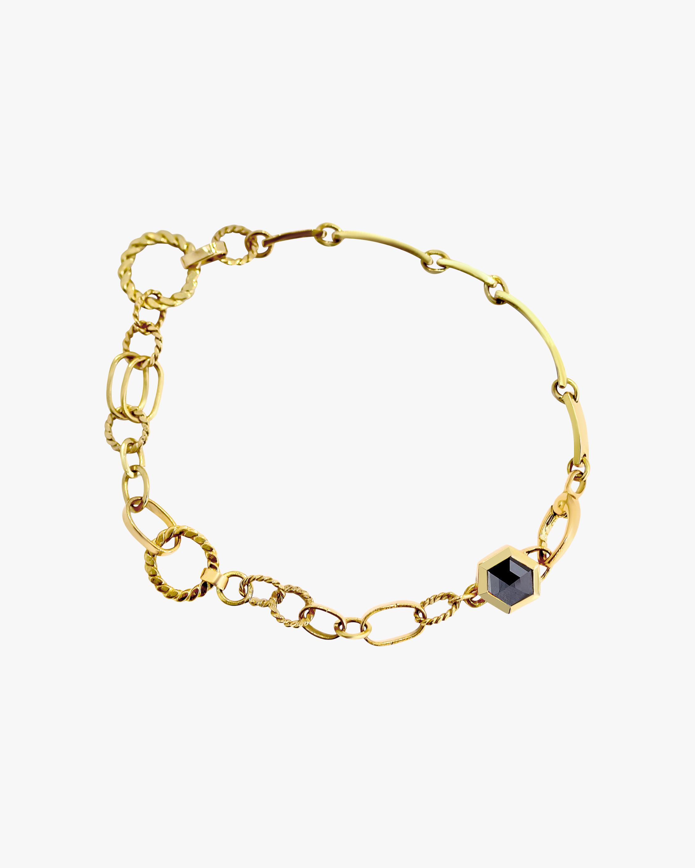 Unisex Hexagon Bracelet