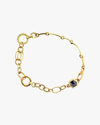 Chandally Unisex Hexagon Bracelet 1