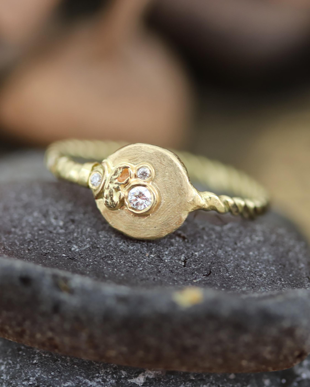 Flowering Diamond Ring