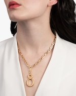 Lulu Frost Small Plaza Number Pendant 1