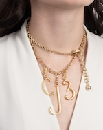 Lulu Frost Mixed Long Chain Necklace 1