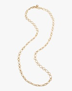 Lulu Frost Oval Round Chain Necklace 0