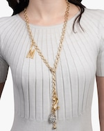 Lulu Frost Oval Round Chain Necklace 1