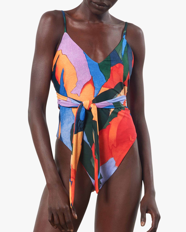 Mara Hoffman Gamela One-Piece Swimsuit 1