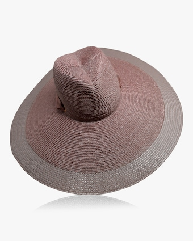 Jeanine Straw Large Brim Hat