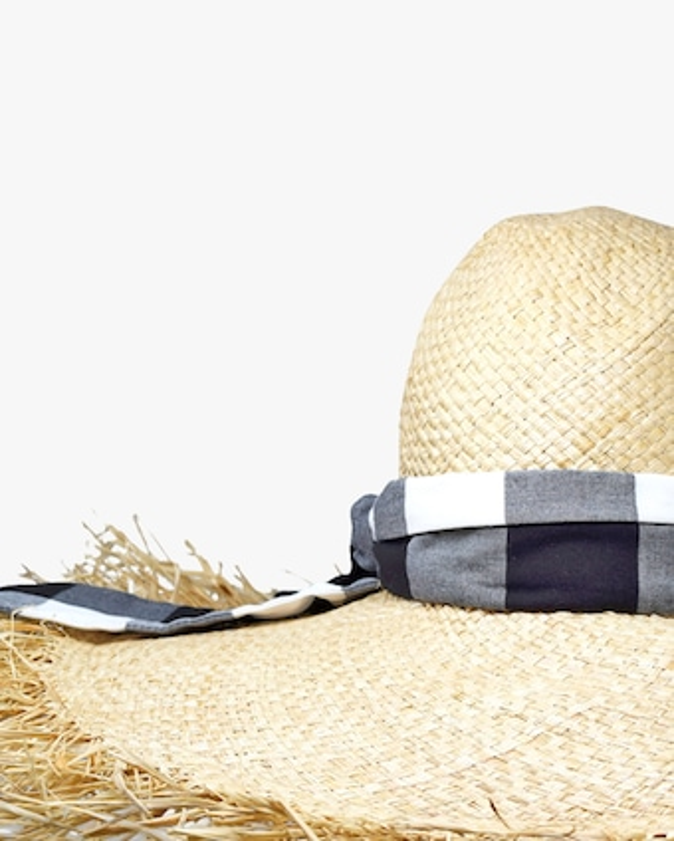 Ete Gingham Hat