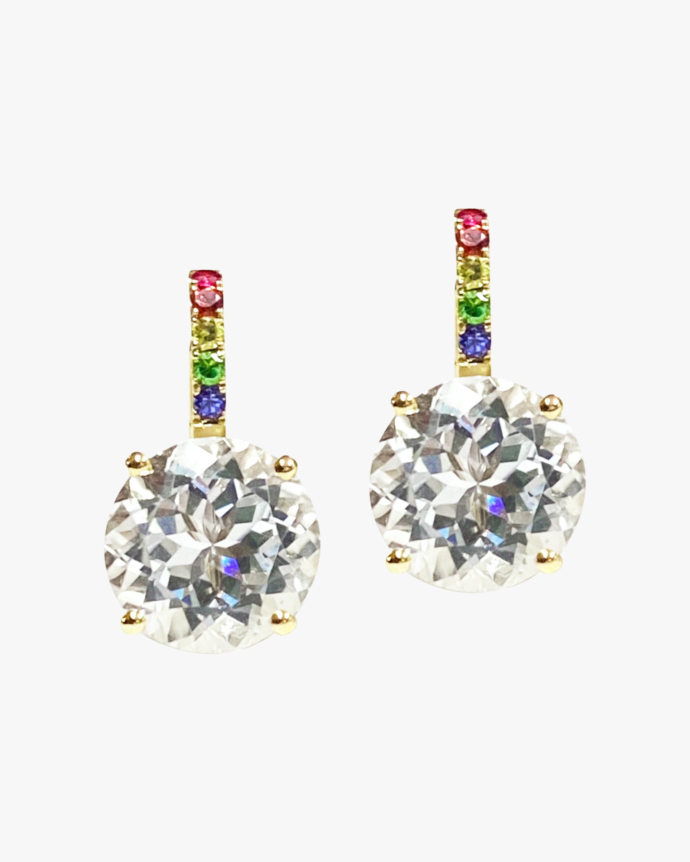Jane Taylor Rainbow Candy Drop Earrings 0