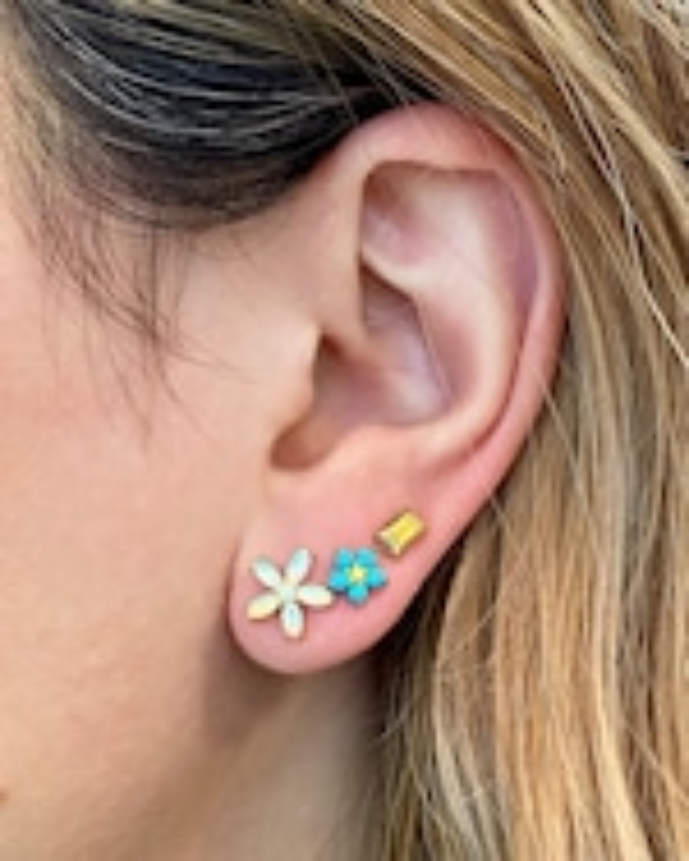 Jane Taylor Petite Floral Stud Earrings 1