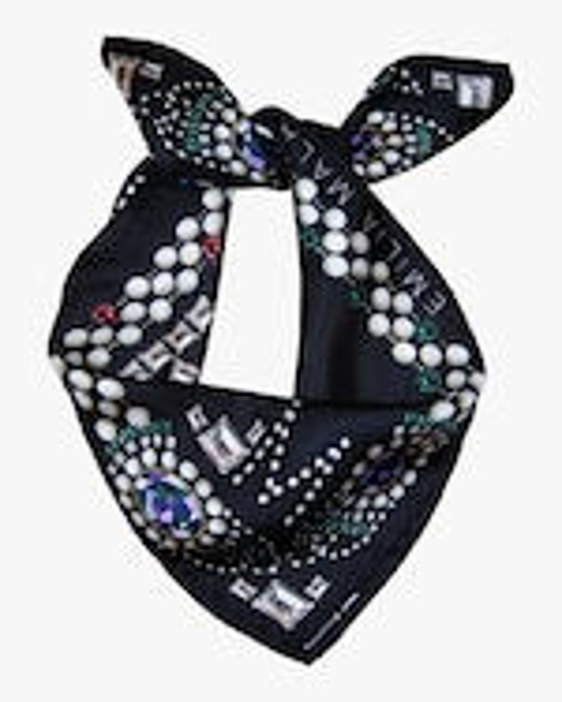 Emilia Mala Tres Brilliante Silk Scarf 1